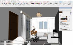 SketchUP color editing