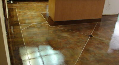 4 Things I've Used to Make an Acid Stained Concrete Floor Shine